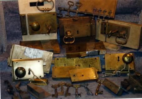 Old Rimlocks and parts