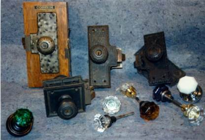 Old Corbin and Ruswin and glass knobs