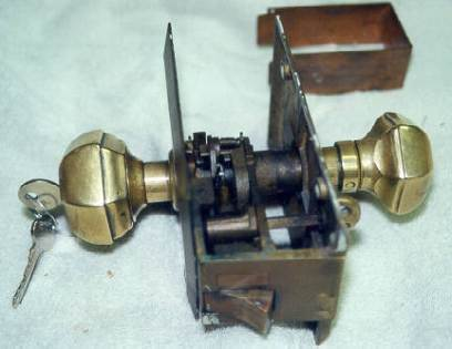 1898- lock made Parts made and refitted
