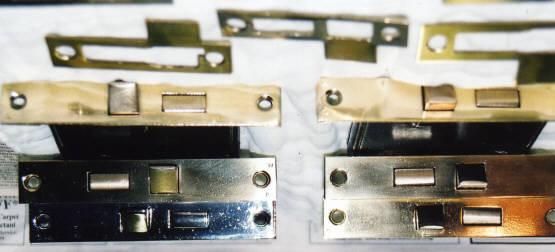 Lock parts reassembled