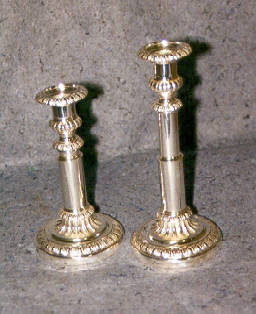 200 year old candlesticks properly restored